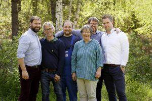 Boris, Stefan, David, Grita, Jurek und Jacob Voelkel